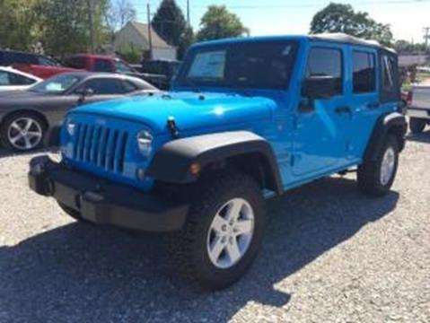 2017 Jeep Wrangler Unlimited for sale in Salem, IN