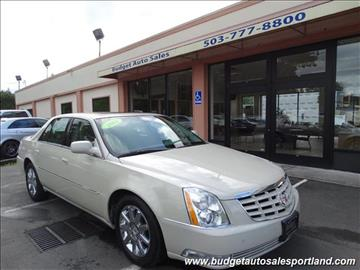 2011 Cadillac DTS for sale in Portland, OR