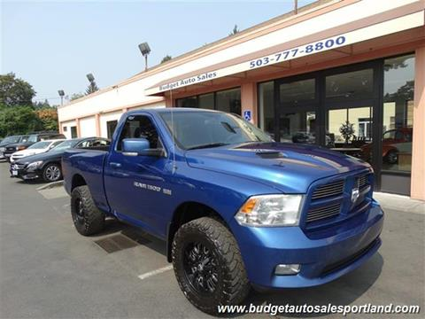 2011 RAM Ram Pickup 1500 for sale in Portland OR