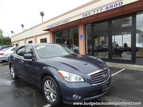 2011 Infiniti M37 for sale in Portland OR