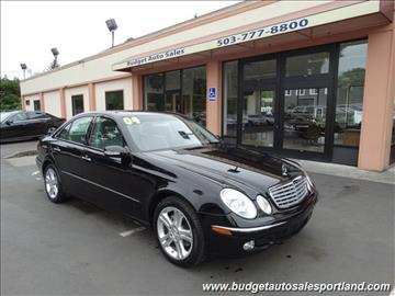 2004 Mercedes-Benz E-Class for sale in Portland, OR