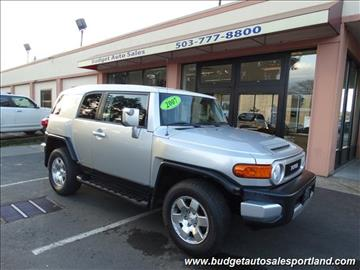 2007 Toyota FJ Cruiser for sale in Portland, OR