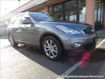 2013 Infiniti EX37 for sale in Portland, OR