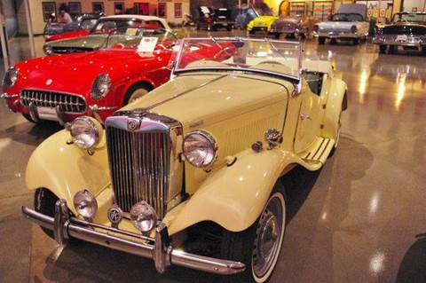 1953 MG TD   Mark-II for sale at Okoboji Classic Cars in West Okoboji IA