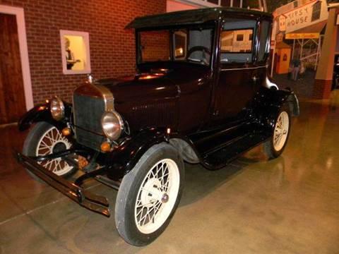 1927 Ford Model T for sale at Okoboji Classic Cars in West Okoboji IA