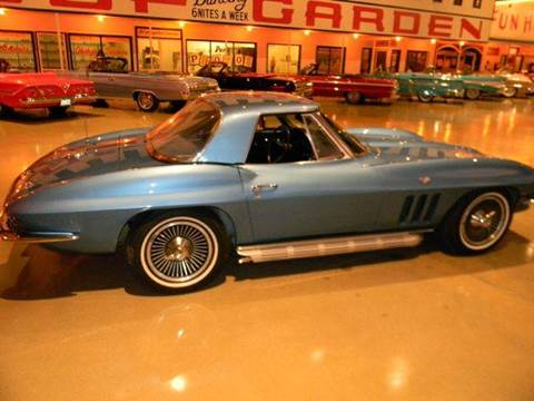 1966 Chevrolet Corvette for sale at Okoboji Classic Cars in West Okoboji IA
