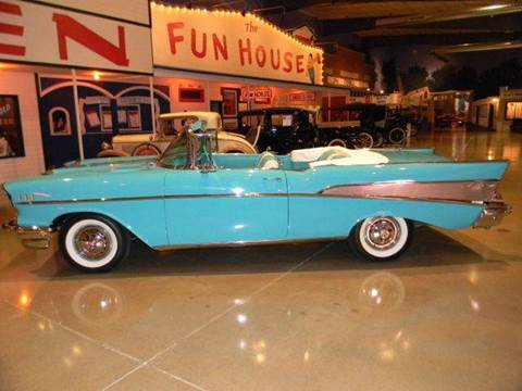 1957 Chevrolet Bel Air for sale at Okoboji Classic Cars in West Okoboji IA