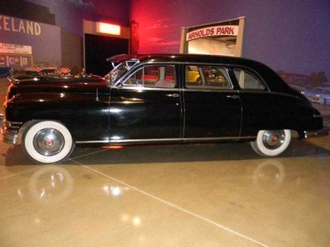 1949 Packard Super Deluxe Eight LWB Sedan for sale at Okoboji Classic Cars in West Okoboji IA