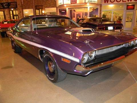 1970 Dodge Challenger for sale at Okoboji Classic Cars in West Okoboji IA