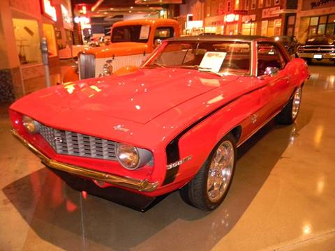 1969 Chevrolet Camaro for sale at Okoboji Classic Cars in West Okoboji IA