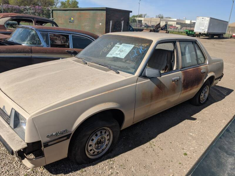 1982 Chevrolet Cavalier for sale at Okoboji Classic Cars in West Okoboji IA