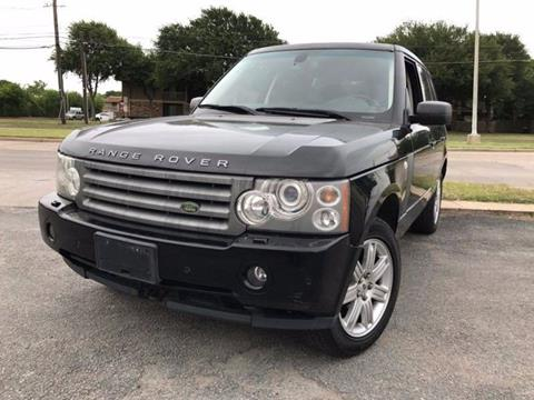 2008 Land Rover Range Rover for sale at Bad Credit Call Fadi in Dallas TX