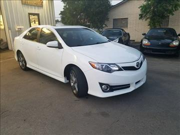 2012 Toyota Camry for sale at Bad Credit Call Fadi in Dallas TX