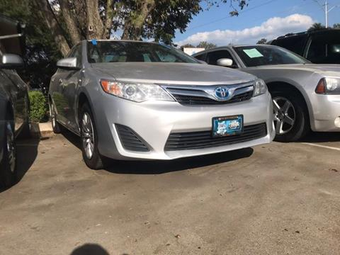2014 Toyota Camry Hybrid for sale at Bad Credit Call Fadi in Dallas TX