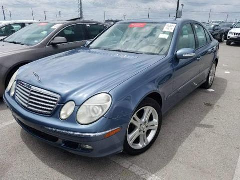 2005 Mercedes-Benz E-Class for sale at Bad Credit Call Fadi in Dallas TX