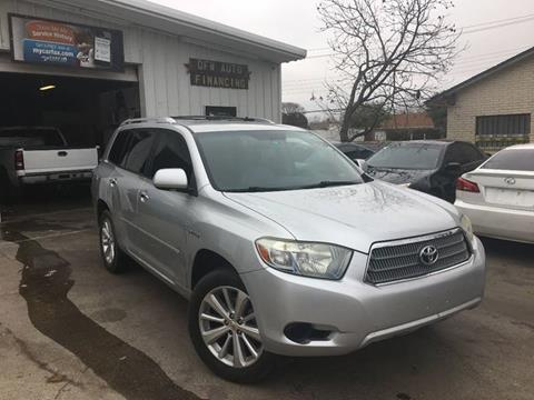 2008 Toyota Highlander Hybrid for sale at Bad Credit Call Fadi in Dallas TX