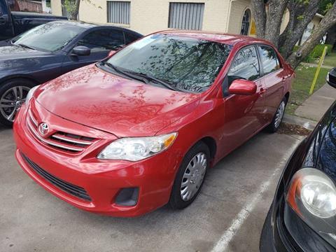 2013 Toyota Corolla for sale at Bad Credit Call Fadi in Dallas TX