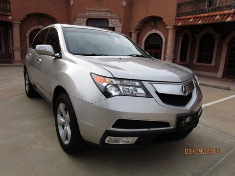 2011 Acura MDX for sale at Bad Credit Call Fadi in Dallas TX