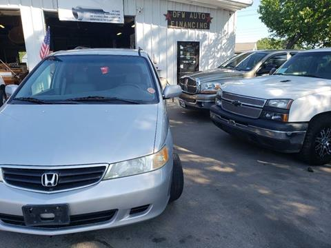 2002 Honda Odyssey for sale at Bad Credit Call Fadi in Dallas TX