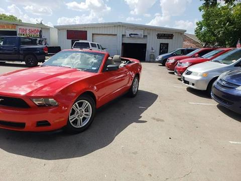 2011 Ford Mustang for sale at Bad Credit Call Fadi in Dallas TX