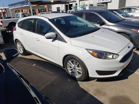 2016 Ford Focus for sale at Bad Credit Call Fadi in Dallas TX