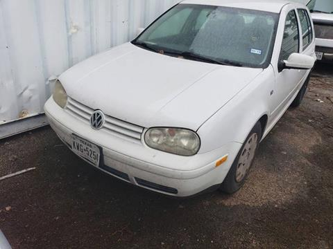 2004 Volkswagen Golf for sale at Bad Credit Call Fadi in Dallas TX