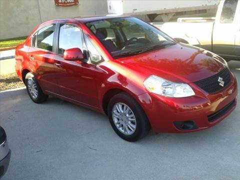 2012 Suzuki SX4 Sedan for sale at Bad Credit Call Fadi in Dallas TX