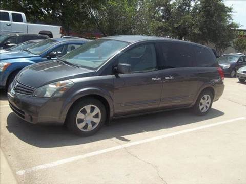 2007 Nissan Quest for sale at Bad Credit Call Fadi in Dallas TX