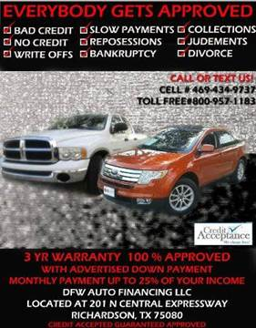 2007 Ford Five Hundred for sale at Bad Credit Call Fadi in Dallas TX