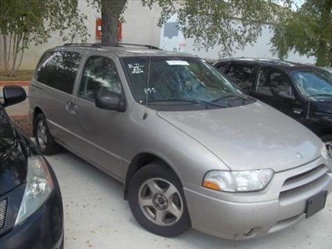 2002 Nissan Quest for sale at Bad Credit Call Fadi in Dallas TX