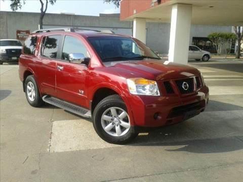 2008 Nissan Armada for sale at Bad Credit Call Fadi in Dallas TX