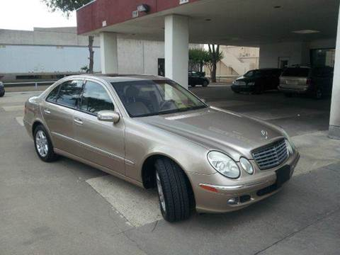 2005 Mercedes-Benz E-Class for sale at Bad Credit Call Fadi in Dallas TX