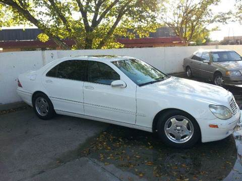 2001 Mercedes-Benz S-Class for sale at Bad Credit Call Fadi in Dallas TX