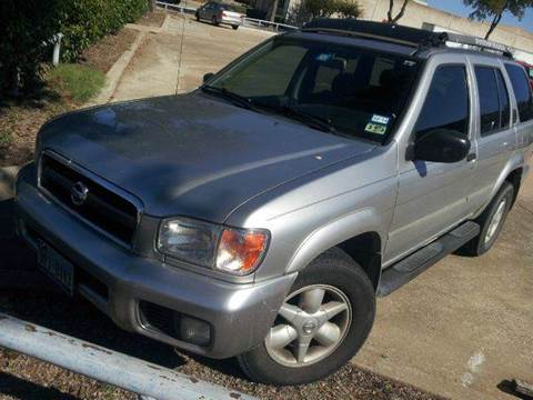 2002 Nissan Pathfinder for sale in Dallas, TX
