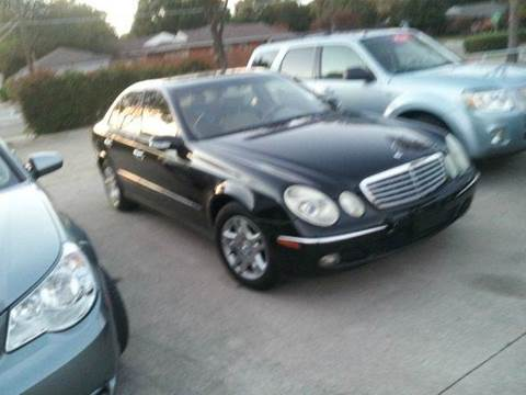 2003 Mercedes-Benz E-Class for sale at Bad Credit Call Fadi in Dallas TX