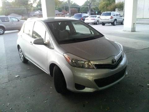 2012 Toyota Yaris for sale at Bad Credit Call Fadi in Dallas TX