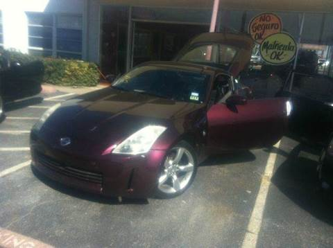 2006 Nissan 350Z for sale at Bad Credit Call Fadi in Dallas TX