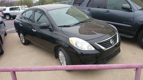 2013 Nissan Versa for sale at Bad Credit Call Fadi in Dallas TX