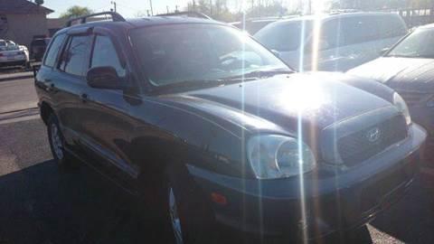 2004 Hyundai Santa Fe for sale at Bad Credit Call Fadi in Dallas TX
