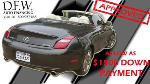 2008 Hyundai Azera for sale at Bad Credit Call Fadi in Dallas TX