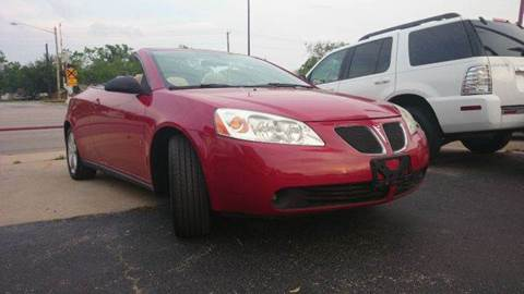 2007 Pontiac G6 for sale at Bad Credit Call Fadi in Dallas TX
