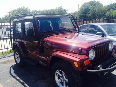 2003 Jeep Wrangler for sale at Bad Credit Call Fadi in Dallas TX