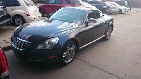 2007 Lexus SC 430 for sale at Bad Credit Call Fadi in Dallas TX