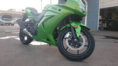 2012 Kawasaki EX250JCF NINJA 250R for sale at Bad Credit Call Fadi in Dallas TX