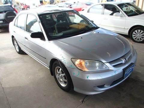 2005 Honda Civic for sale at Bad Credit Call Fadi in Dallas TX
