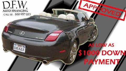 2004 Cadillac DeVille for sale at Bad Credit Call Fadi in Dallas TX