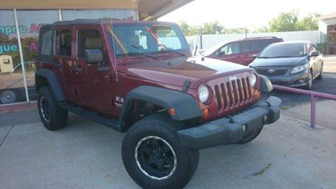 2007 Jeep Wrangler Unlimited for sale at Bad Credit Call Fadi in Dallas TX
