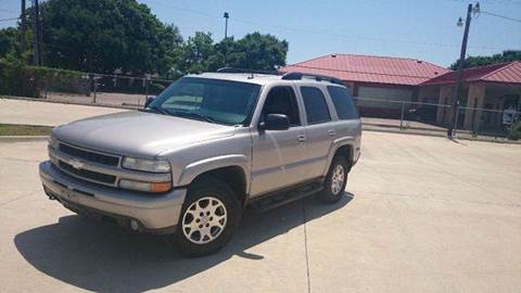 2004 Chevrolet Tahoe for sale at Bad Credit Call Fadi in Dallas TX