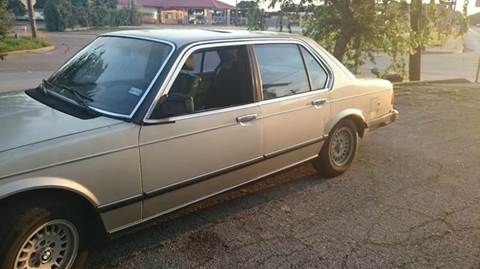 1983 BMW 7 Series for sale at Bad Credit Call Fadi in Dallas TX