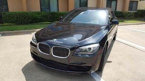 2012 BMW 7 Series for sale at Bad Credit Call Fadi in Dallas TX